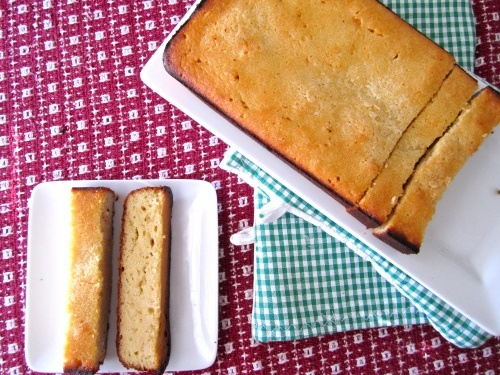 Chobani Lemon Pound Cake~ and I love Chobani!