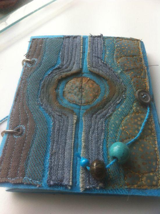One of my handmade journals