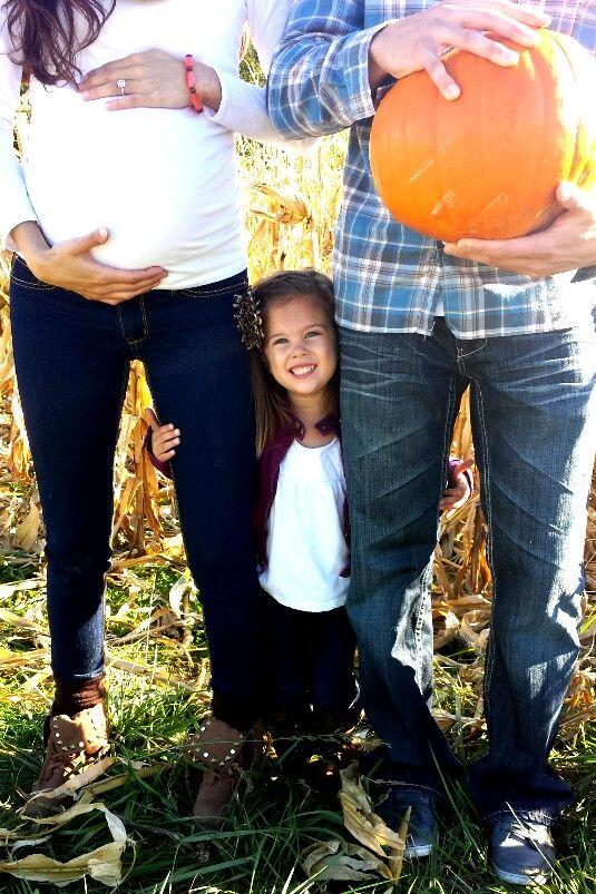 Maternity family photo