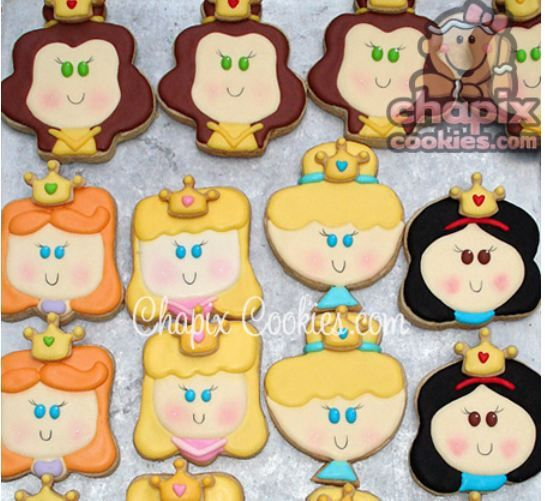 Disney Princess Sugar Cookies