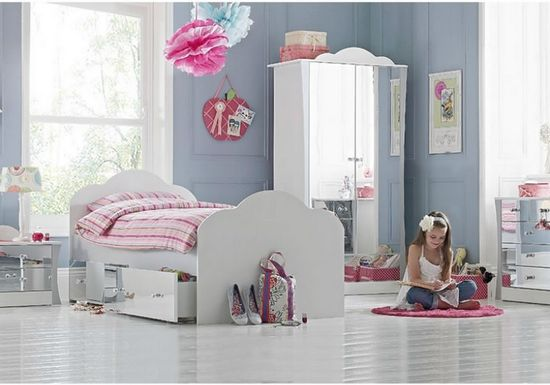 #Mirrored #Bedrom #Furniture Ideas For #Girls