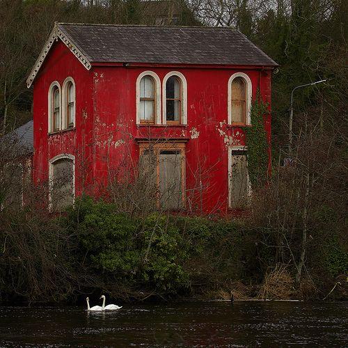 Red House, Brandenburg, Germany photo via velvet