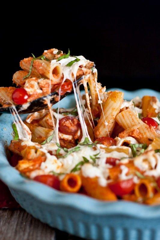 Grilled+Chicken+Caprese+Pasta