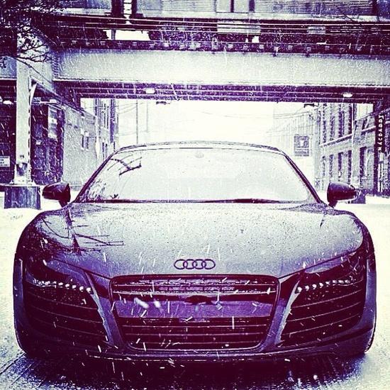 Impressive Audi R8!