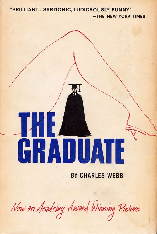 The Graduate book cover 1960