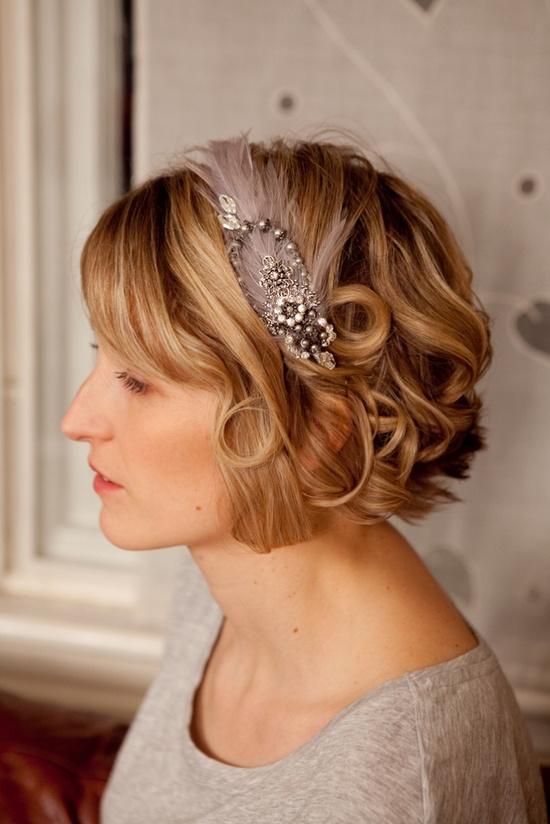 Bridesmaid short hair ideas - Michelle