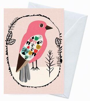 Greeting Card - Kookaburra Garland