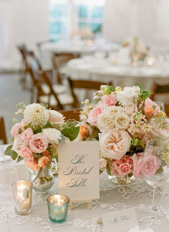 romantic reception wedding flowers,  wedding decor, wedding flower centerpiece, wedding flower arrangement, add pic source on comment and we will update it. www.myfloweraffai... can create this beautiful wedding flower look.