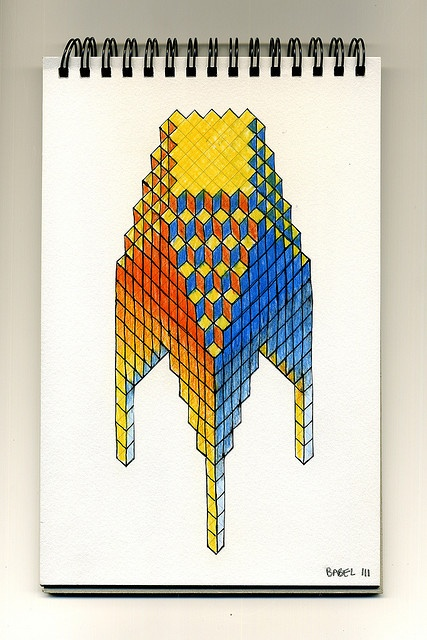 Babel 03 by Cedric Thual, via Flickr