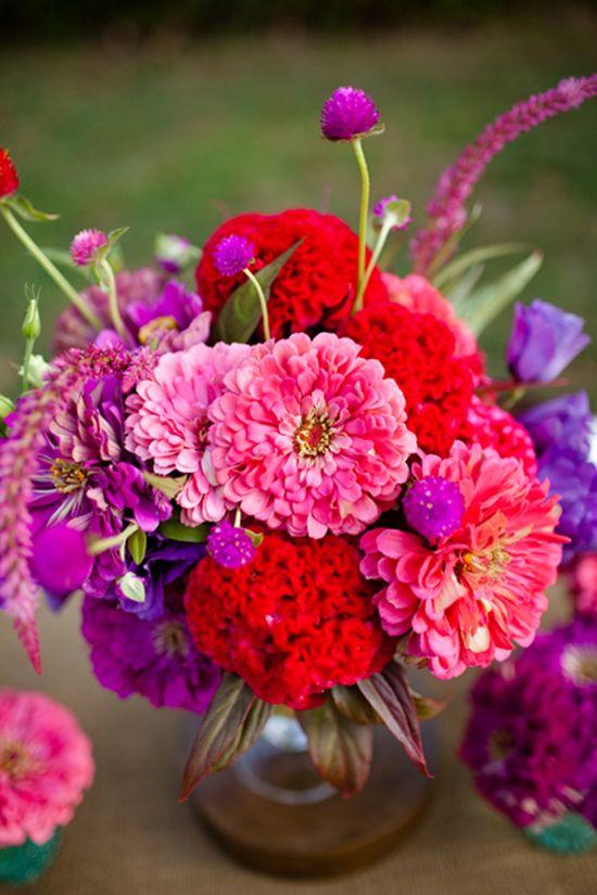 Beautiful flowers designed by Janie Medley