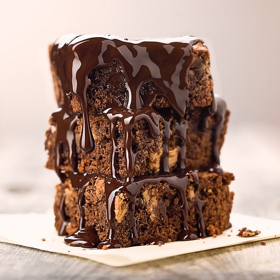 Utterly and completely mouth-watchingly scrumptious Chocolate Peanut Butter Brownies. #brownies #chocolate #peanut #butter #food #baking #dessert