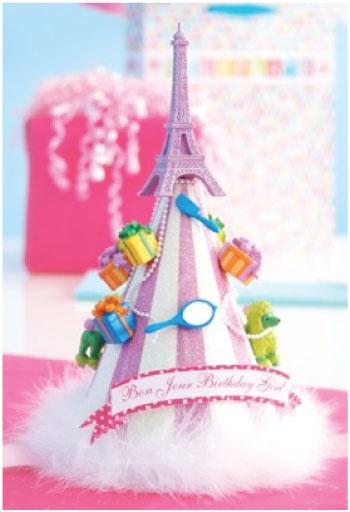 French birthday party hat