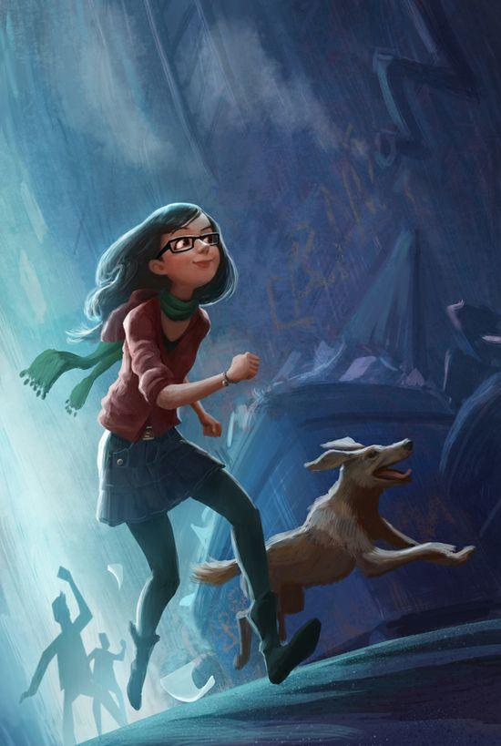Young Girl Cartoon Character #character #cartoon