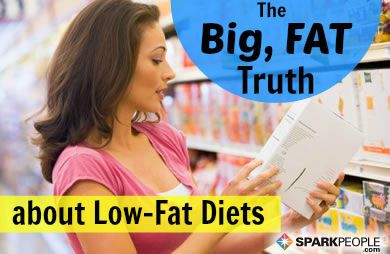 6 Risks of Eating a Low-Fat Diet via @SparkPeople