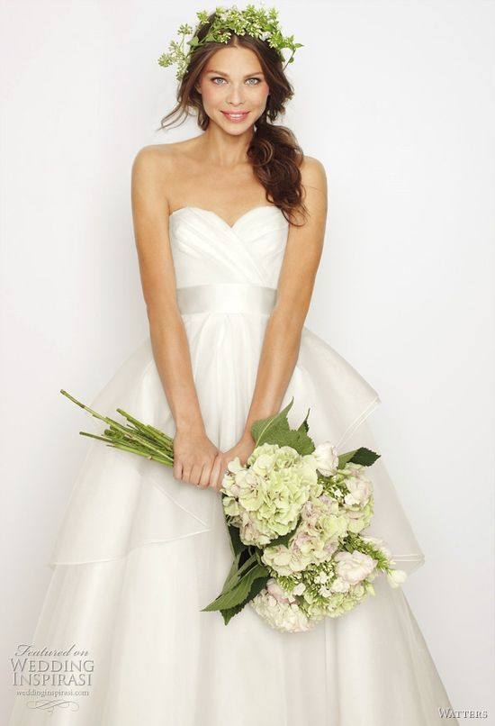 Watters Fall 2011 Collection Wedding Dresses