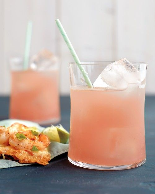 Ruby Red Tequila Cocktails - Martha Stewart Recipes