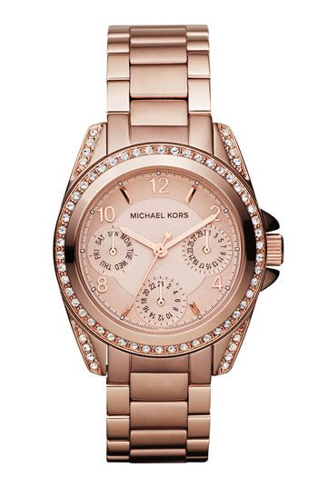 I love Michael Kors watches, need i say more?
