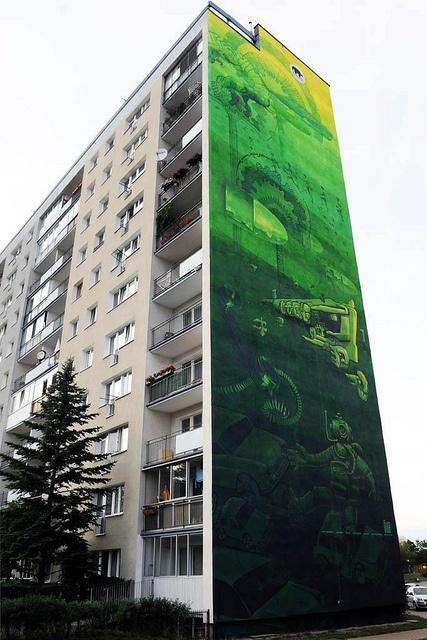 Mural na Zaspie / Mural in Zaspa District