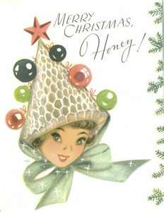 Vintage Christmas Greeting Card