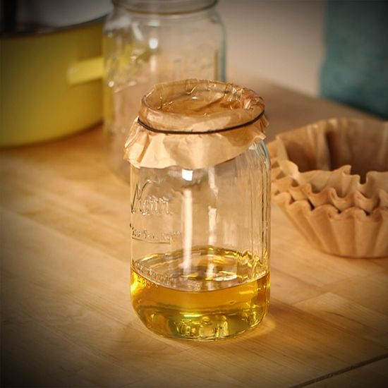 Don't pour used cooking oil down the drain! Do this instead!