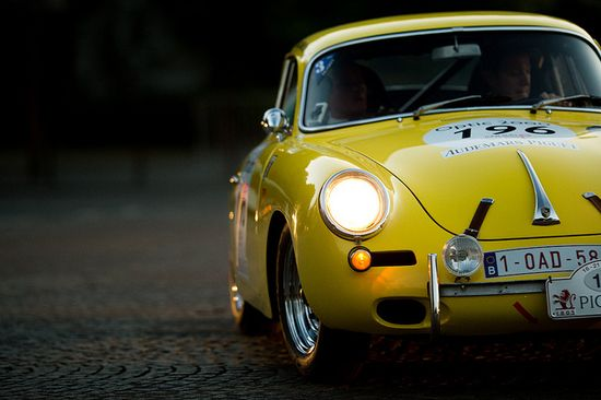 Tour Auto 2012 - Porsche 356 by Guillaume Tassart