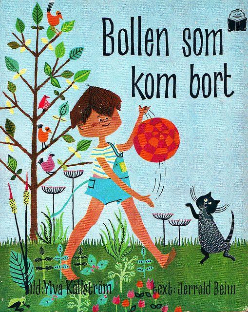 Bollen Som Kom Bort, Swedish children's book from the 60's.