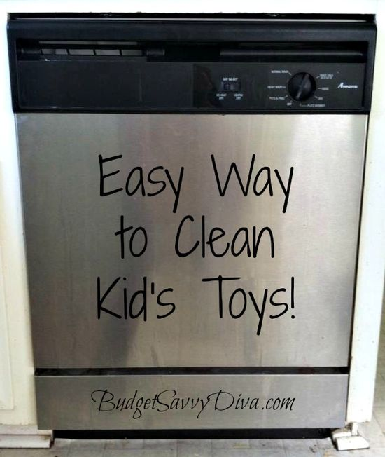 Easy Way to Clean Kid's Toys