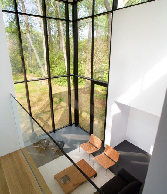 Black White Residence / David Jameson Architect - Location: Bethesda, Maryland, USA