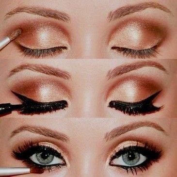 brown smokey eye ?