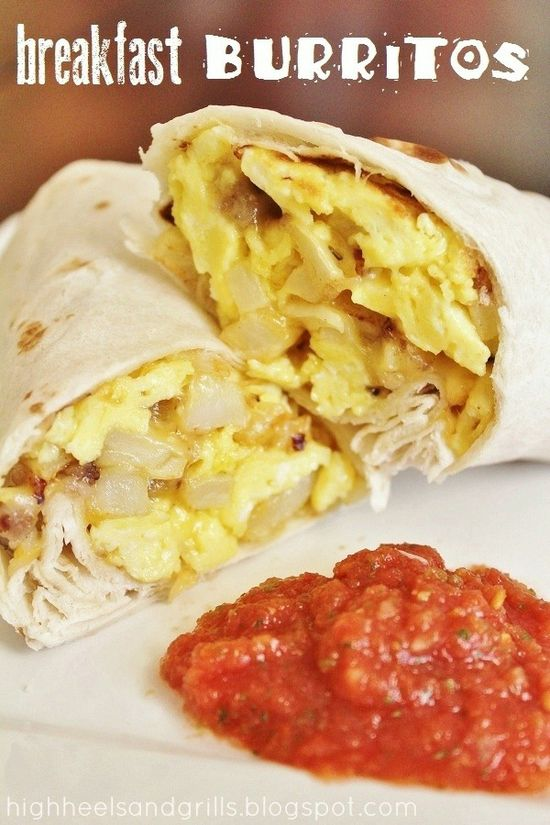 The Best Breakfast Burritos Ever! (I bet you could substitute Orieda's frozen bag of hash browns rather than do the peeled, cubed potatoes to make it easier.)