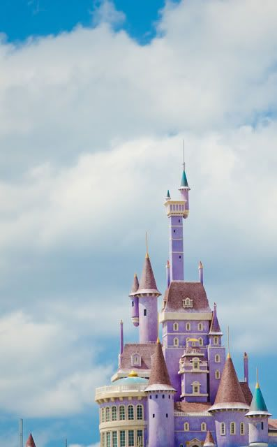 The beasts castle....Coming soon to Walt Disney World