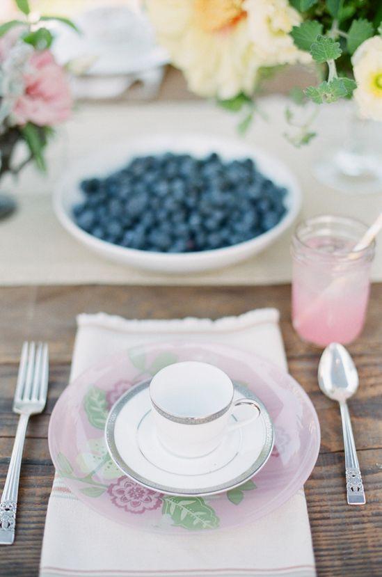 Garden tea party birthday
