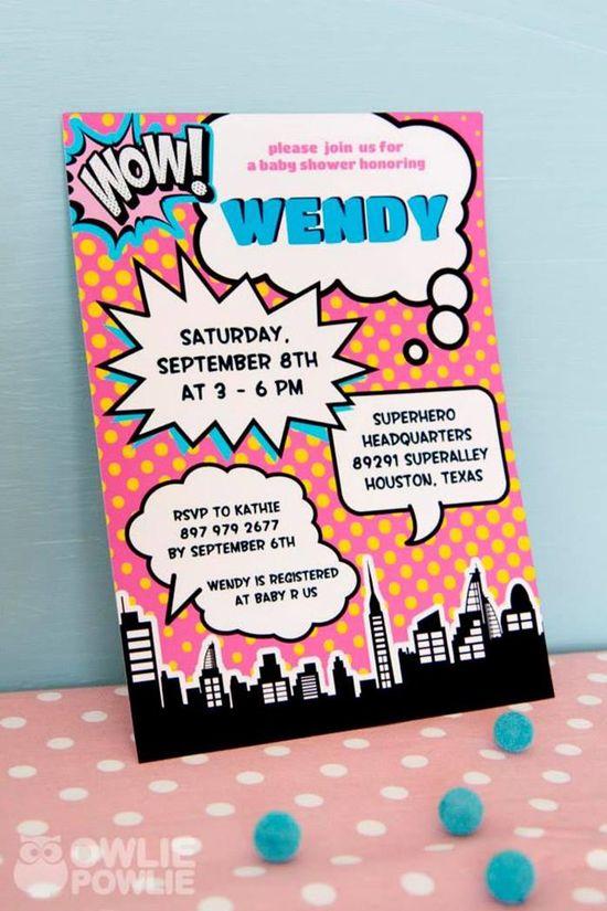 Supergirl / Superboy Baby Shower ideas via Kara's Party Ideas KarasPartyIdeas.com #superhero #supergirl #Party #idea #supplies