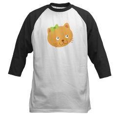 Cute Cat Baseball Jersey