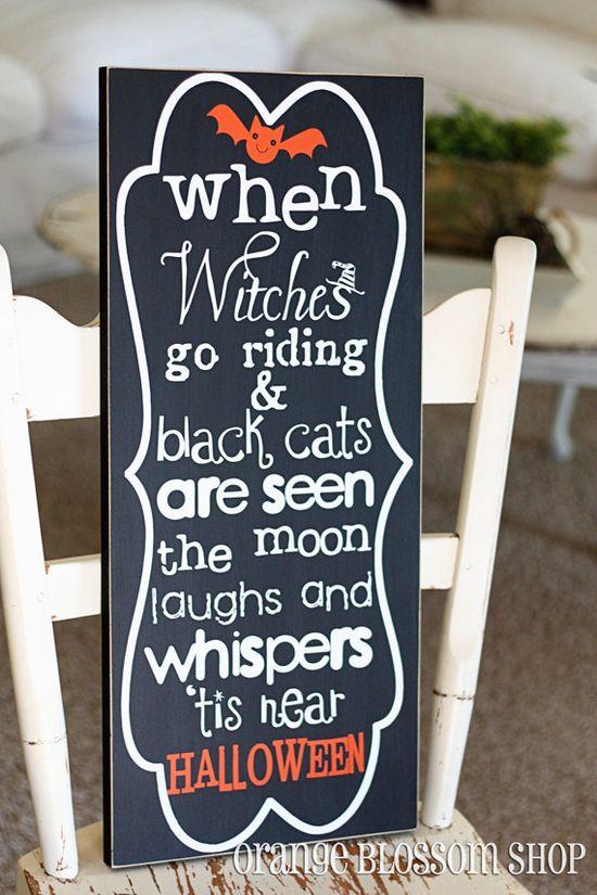#Halloween decor #quote