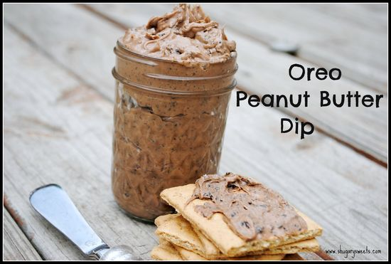 Oreo Peanut Butter Dip