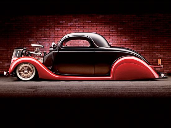 Ford Coupe HotRod 1936