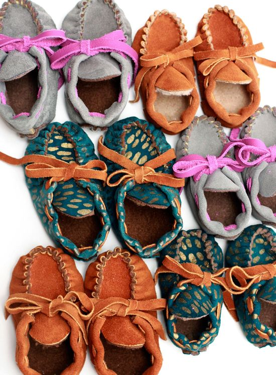Baby Moccasins by Manimal