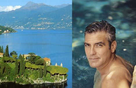 Lake Como......and yes, George Clooney ;)  #perskinality
