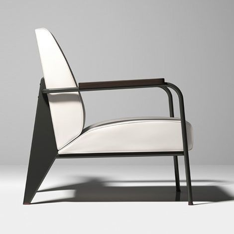 Prouvé RAW is a collection de classics by Jean Prouvé – reinterpreted by the denim specialist G-Star and the Swiss furniture manufacturer Vitra in collaboration with the Prouvé family