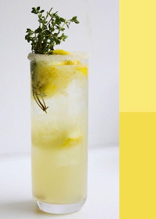 Lemon-Thyme-Soda #drinks