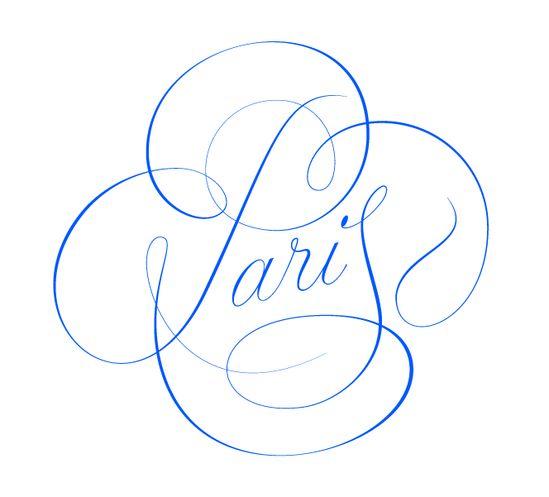 Paris type lettering by @Andrei Kravets Kravets Kravets Kravets Kravets Kravets Robu