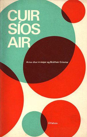 retro book cover.
