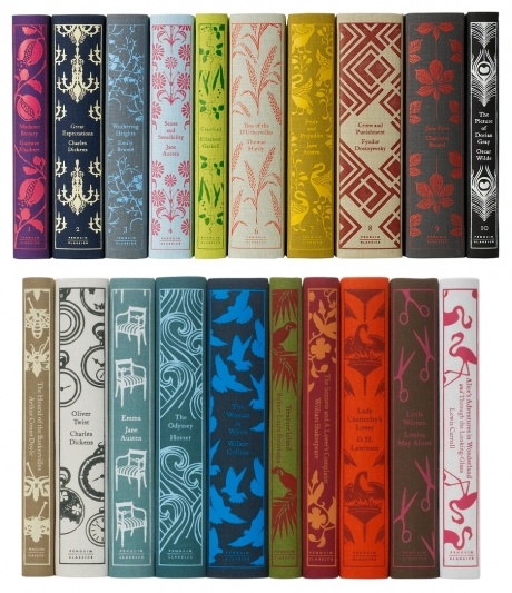 beautifully covered classics by Penguin.