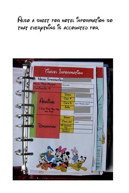 "Updates: Organizing all of your Disney stuff... My ""Disney bible"" :)"