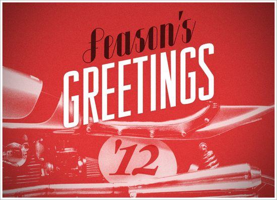 Season's Greetings fromPipeburn - Pipeburn - Purveyors of Classic Motorcycles, Cafe Racers & Custom motorbikes