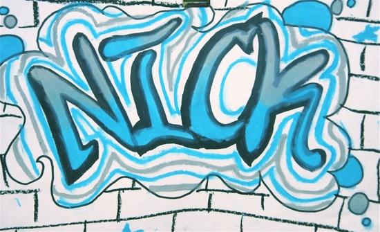 5th Grade: Graffiti Art