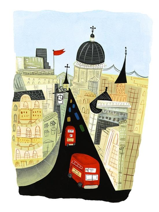 Fleet Street Illustration