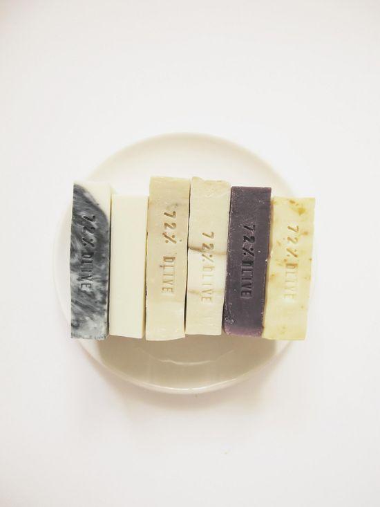 Handmade soap.