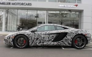 Special McLaren MP4-12C Wears Test-Car Camouflage - WOT on Motor Trend